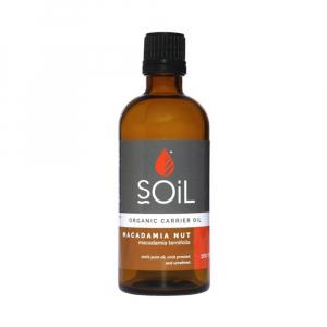 SOiL Ulei Baza Macadamia Nut - Nuci de Macadamia - 100% Organic ECOCERT 100ml0