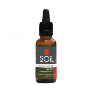 SOiL Ulei Baza Neem 100% Organic ECOCERT 30ml0