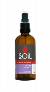 SOiL Ulei Blend Masaj Baby 100% Organic ECOCERT 100ml0