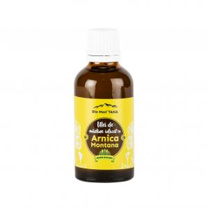 Ulei de masline infuzat cu Arnica Montana, 50 ml, Bio MonTANA0
