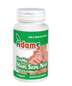 VitaMix Hair Skin & Nail (AV120), 30 tablete, Adams Vision0