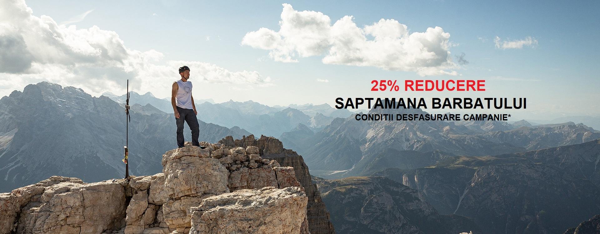 SAPTAMANA BARBATULUI 25% REDUCERE