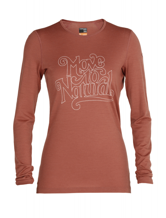 BLUZA 200 OASIS LS CREWE MOVE TO NATURAL WOMEN [0]