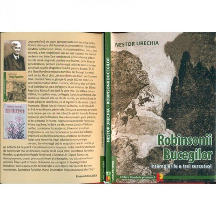 ROBINSONII BUCEGILOR - NESTOR URECHIA 0