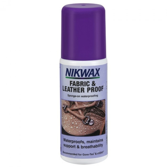 Solutie impermeabilizare Nikwax Fabric and Leather Proof 125ml 0