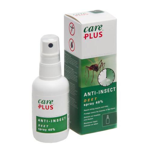 Spray anti insecte, 60ml DEET 40%, Care Plus 0