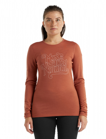 BLUZA 200 OASIS LS CREWE MOVE TO NATURAL WOMEN [1]