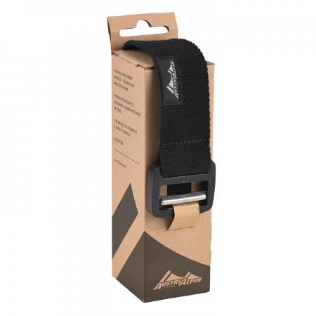 Curea TEXTILE BELT black  waist 110cm  L; Cobraframe 38  black   BF110KM [1]