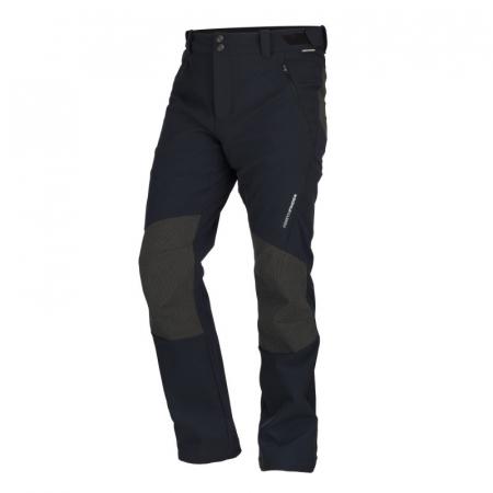 Pantaloni hibrizi pentru bărbați din softshell BUSOV [0]
