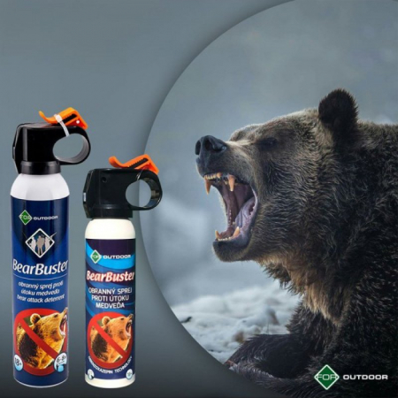 Spray autoaparare BearBuster 150 ml1