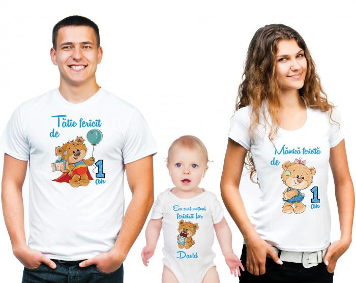 SET TRICOURI PERSONALIZATE FAMILIE NR.5 0