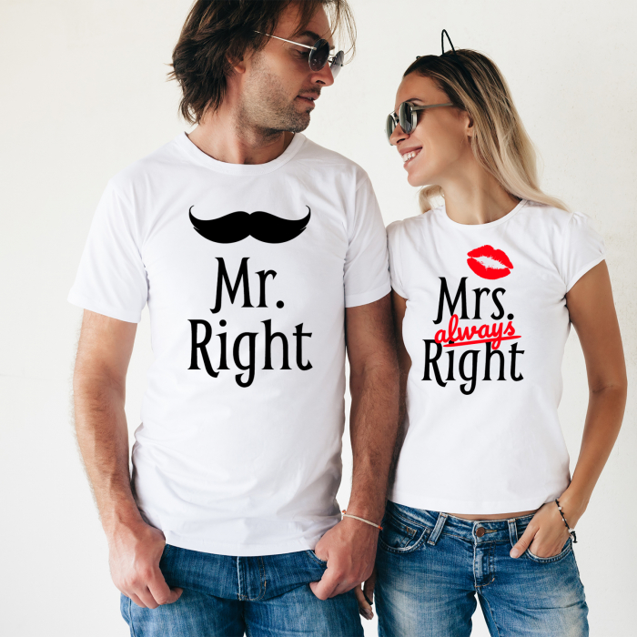 SET TRICOURI PERSONALIZATE - Mr&Mrs 0