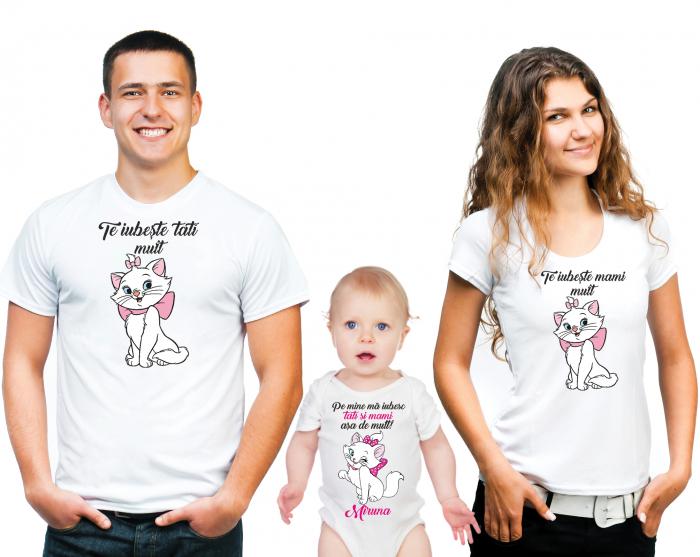 SET TRICOURI PERSONALIZATE FAMILIE- NR.10 0