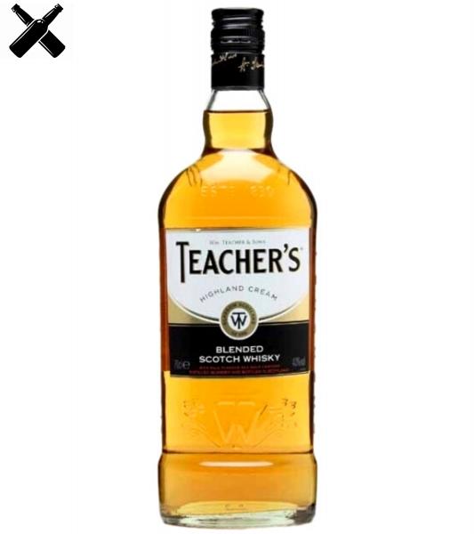 Teacher's Whisky Highland Cream 1L - 40% Alc. [0]