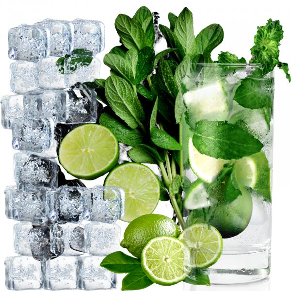 Pachet pentru Cocktail  - Mentă 30 gr, Gheață 2 kg, Lime 4 buc [0]