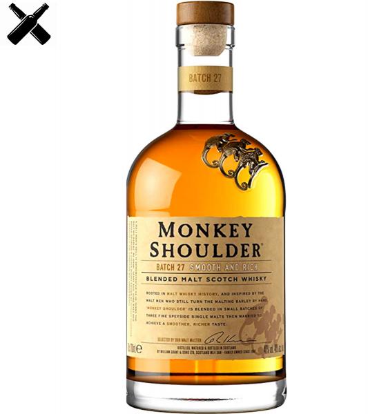 MONKEY SHOULDER WHISKY 0.7L 40% Alc [0]