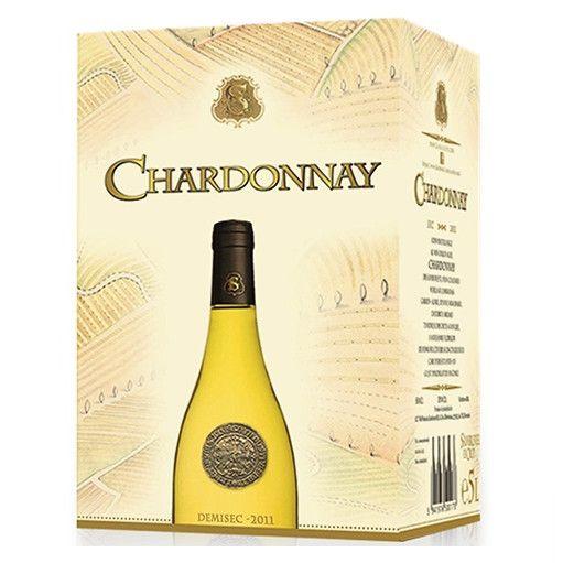 CHARDONNAY SAMBURESTI ALB DEMISEC 5 L [0]