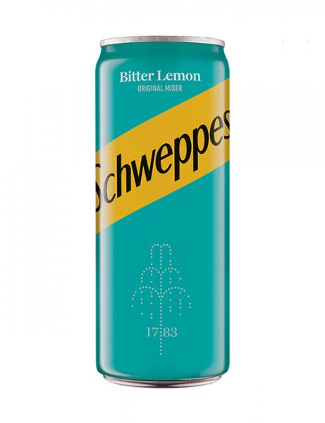 SCHWEPPES BITTER LEMON 330 ml [0]