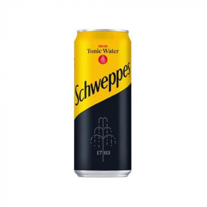 SCHWEPPES TONIC WATER 330 ml [0]