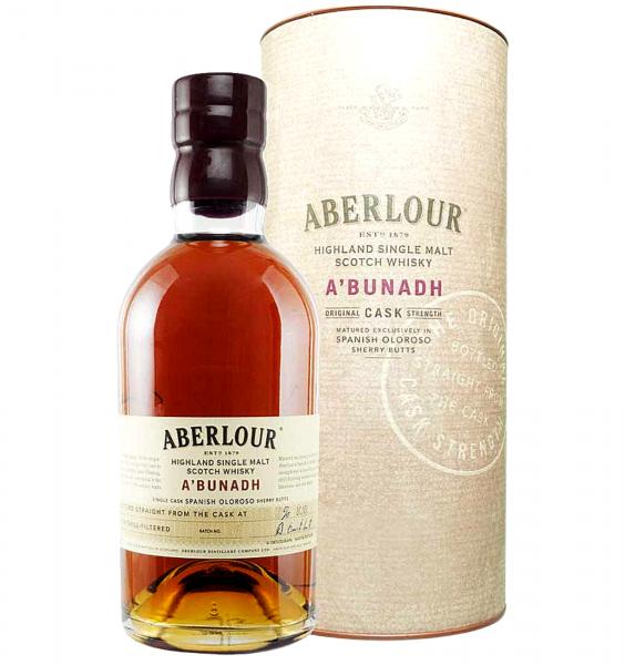 Aberlour A'Bunadh Single Malt Scotch Whisky 0.7L 59.9% alc./vol. [0]