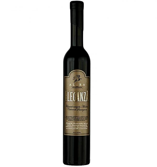Alira Eleganza Cabernet Sauvignon & Feteasca Neagra & Merlot Rosu Dulce 0.5L 20% alc./vol. [0]