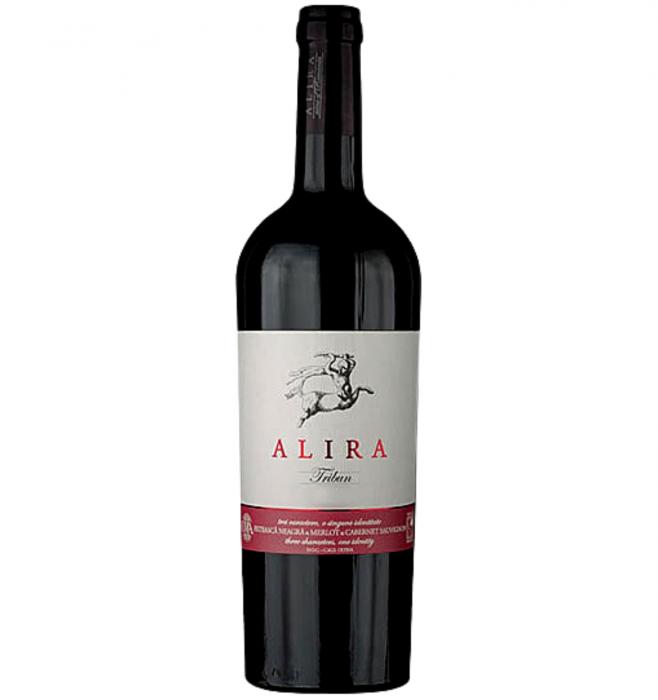 Alira Tribun Fetească Neagră & Merlot & Cabernet Sauvignon Rosu Sec 0.75L 13.9% alc./vol. [0]