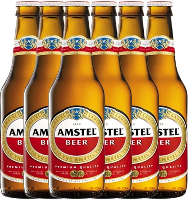 Pachet Bere Amstel 0.33L 5% alc./vol. - 6 sticle [0]
