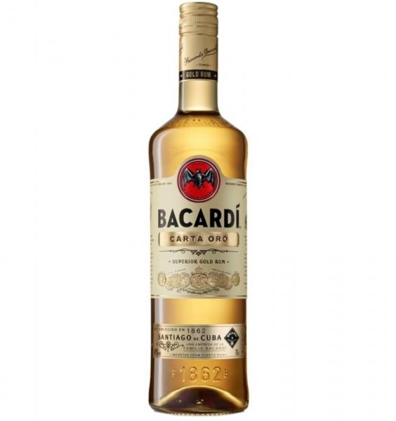 BACARDI  CARTA ORO 700 ml [0]