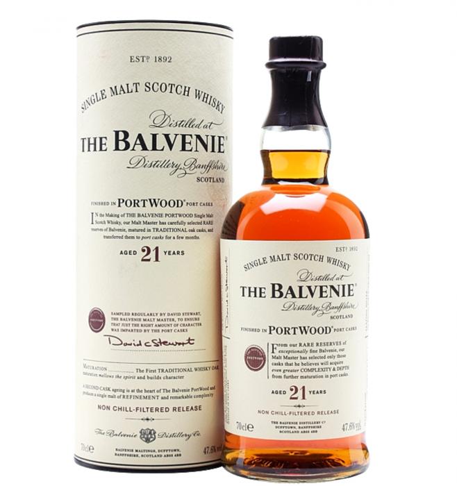 Balvenie 21 Ani PortWood Cask 40% alc./vol 0.7L [0]