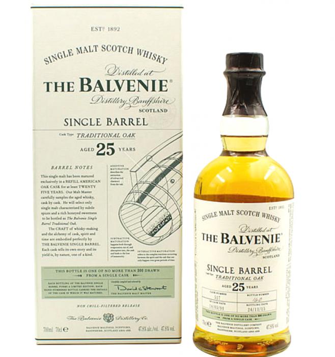 Balvenie 25 Ani 0.7L 47.8% alc./vol. [0]