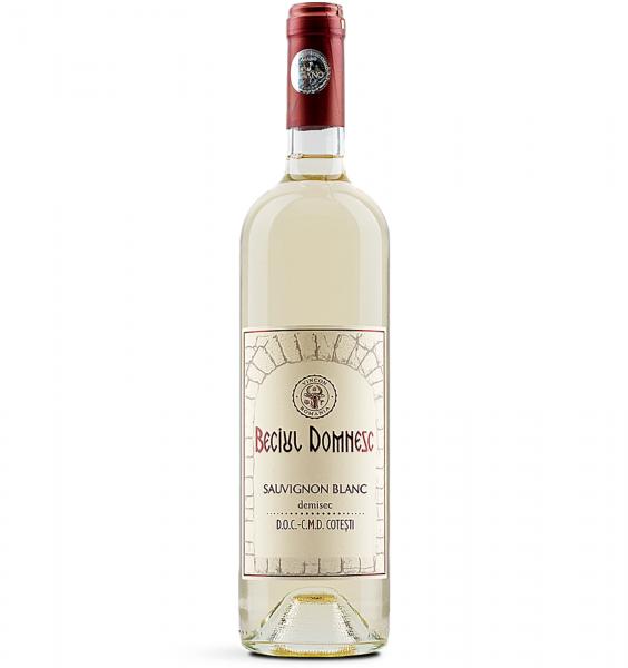 Beciul Domnesc Sauvignon Blanc Demisec 0.75L 14% alc./vol. [0]