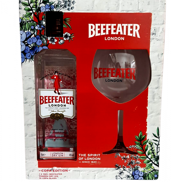 Beefeater 0.7L 40% alc./vol. + 1 Pahar [0]