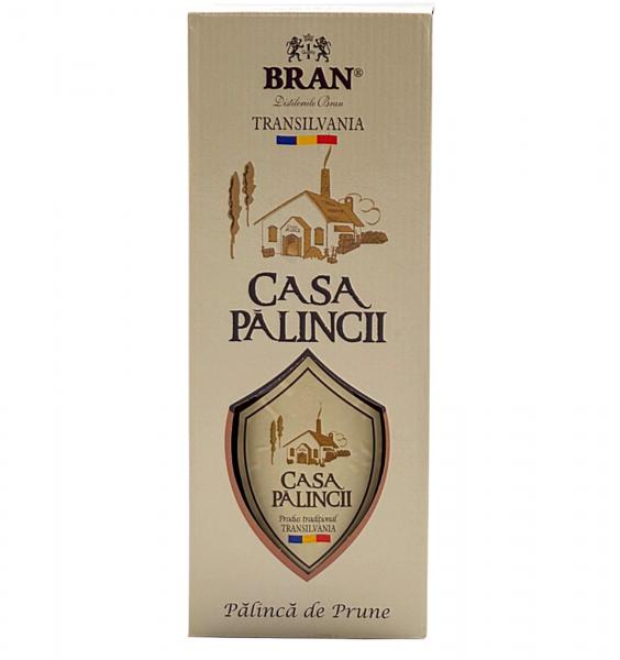 Bran Palincă Prune Casa Pălincii 0.5L 50% alc./vol. [0]