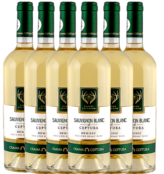 Cervus Cepturum Sauvignon Blanc De Ceptura Demisec 0.75L [0]