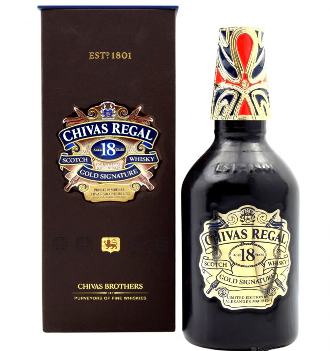 Chivas Regal 18 Ani Gold Signature Alexander McQueen 0.7L [0]