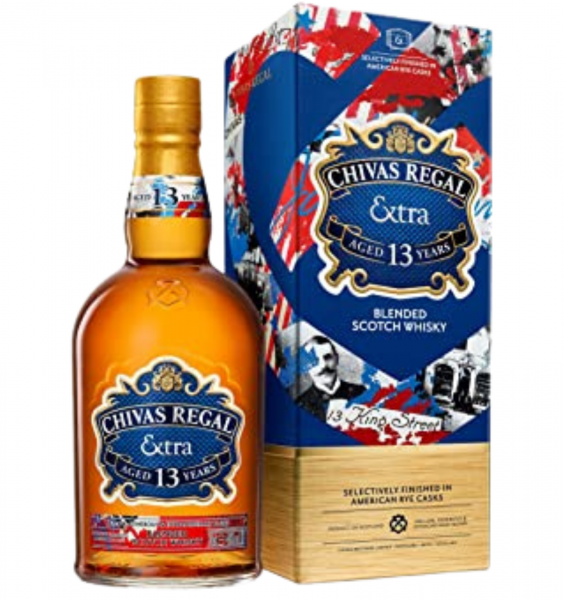 Chivas Regal Extra 13 Ani American Rye Blended Scotch Whisky0.7L 40% alc./vol. [0]