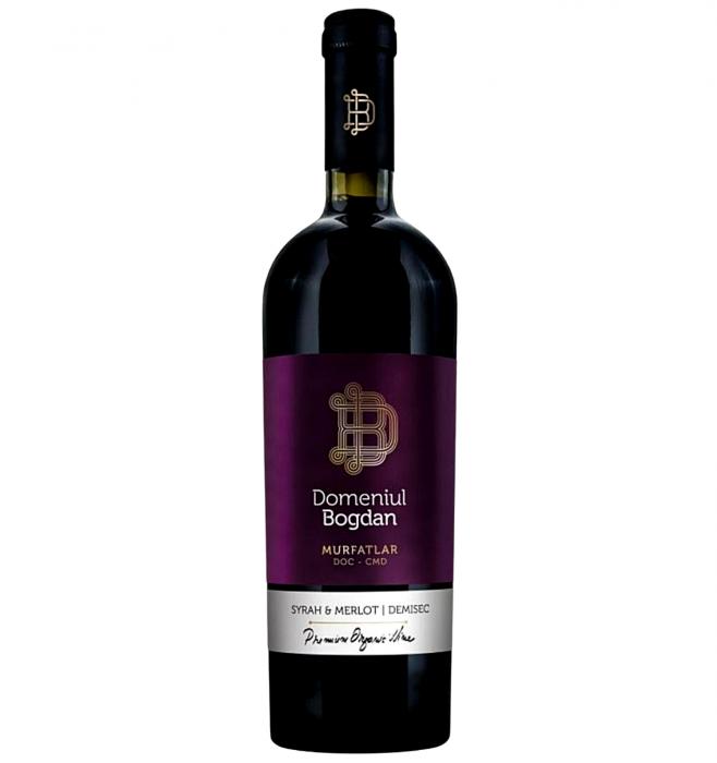 Domeniul Bogdan Syrah & Merlot Rosu Demisec 0.75L 14% alc./vol. [0]