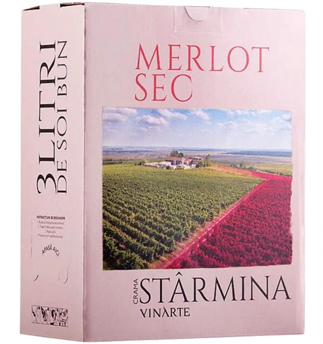 Castel Starmina Merlot Rosu Sec 3L 13% alc./vol. [0]
