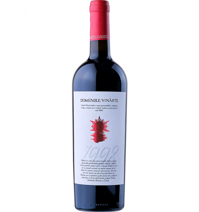 Domeniile Vinarte Cabernet Sauvignon & Merlot Rosu Sec 0.75L 13% alc./vol. [0]