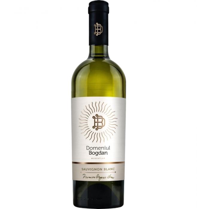 Domeniul Bogdan Clasic Sauvignon Blanc Organic Demisec 2019 0.75L 13% alc./vol [0]