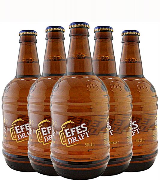 Pachet Efes Draft 0,5L - 6 Sticle [0]