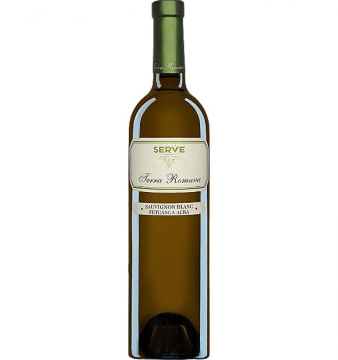Terra Romana Sauvignon Blanc&Feteasca Alba Alb Sec 0.75L 13% alc./vol. [0]