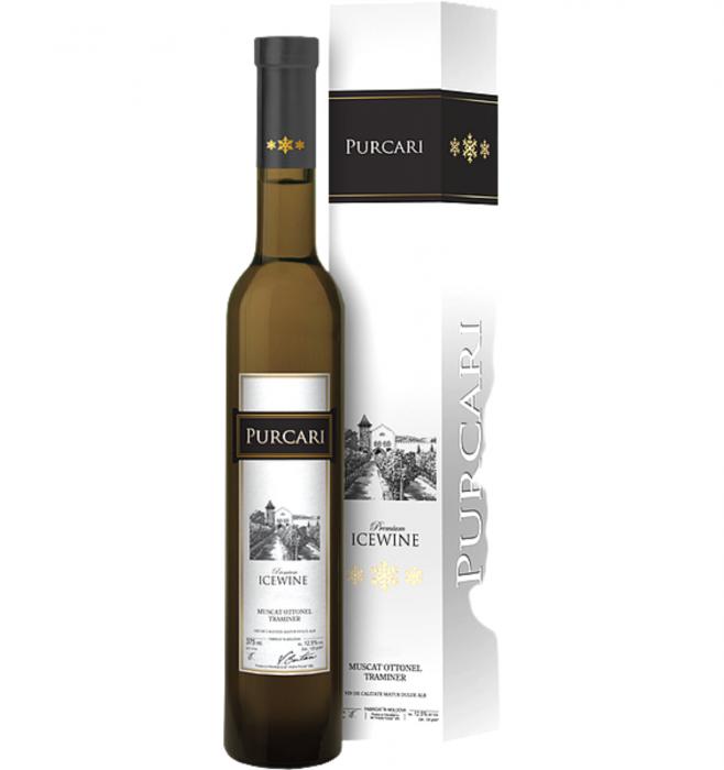 Ice Wine Muscat Ottonel & Traminer Alb Dulce 0.357L 12% alc./vol. [0]