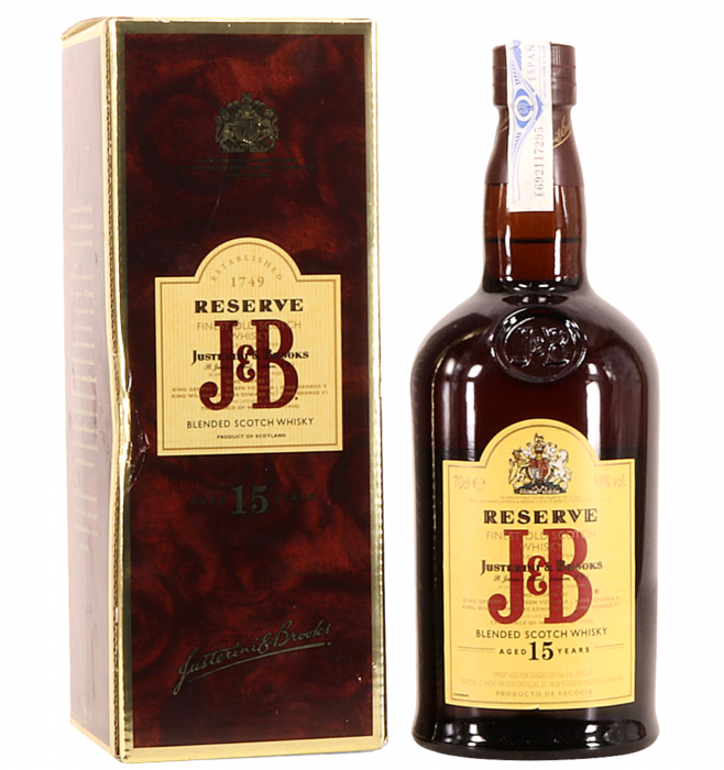 J&B Reserve 15 Ani 40 % alc./vol. 0.7L [0]