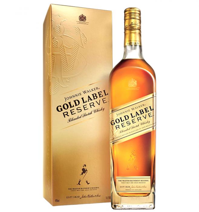 Johnnie Walker Gold Label Reserve 40% alc./vol. 0.7L [0]