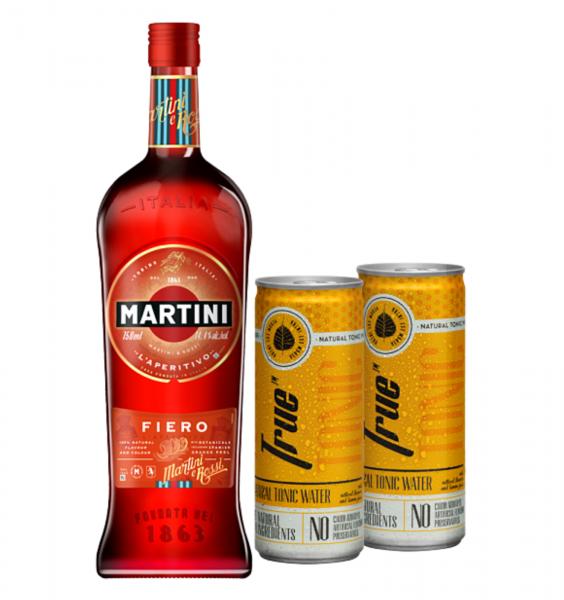 Martini Fiero 0.75L + 2 x True Tonic 0.25L [0]