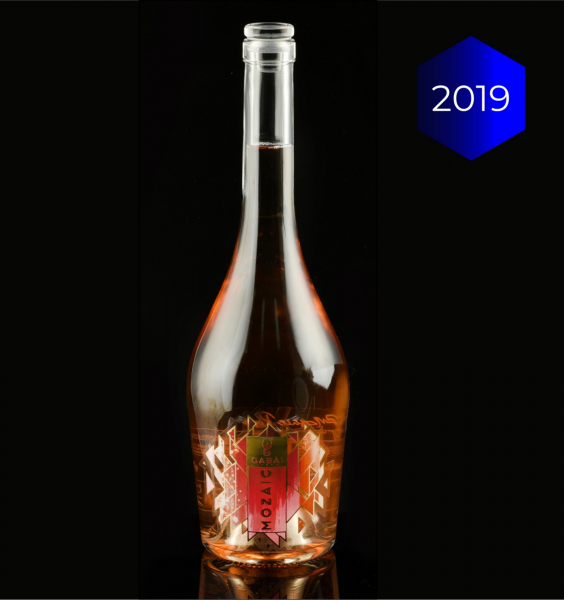 Crama Gabai Mozaic Rose Sec 0.75L 13.5% alc./vol. [1]