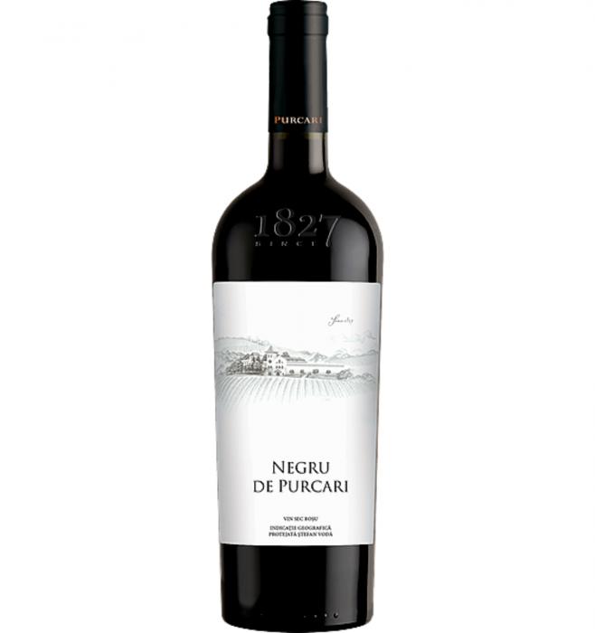 Negru de Purcari Cabernet Sauvignon & Saperavi & Rara Neagra Rosu Sec 1.5L 13.5% alc./vol. [0]