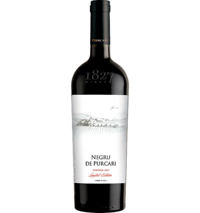 Negru de Purcari Vitange Cabernet Sauvignon & Saperavi & Rara Neagra Rosu Sec 0.7L 13.5% alc./vol. [0]