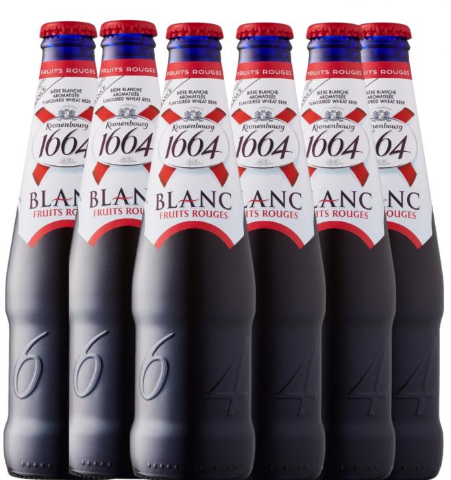Pachet Bere Kronenbourg Blanc Fruits Rouges 6 Sticle [0]